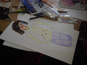 Saturday Fashion Illustration Class