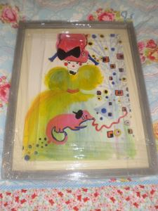 Veronica Rowlands - Fashion Doll originals in frames