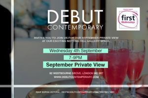 Debut Contemporary Private View