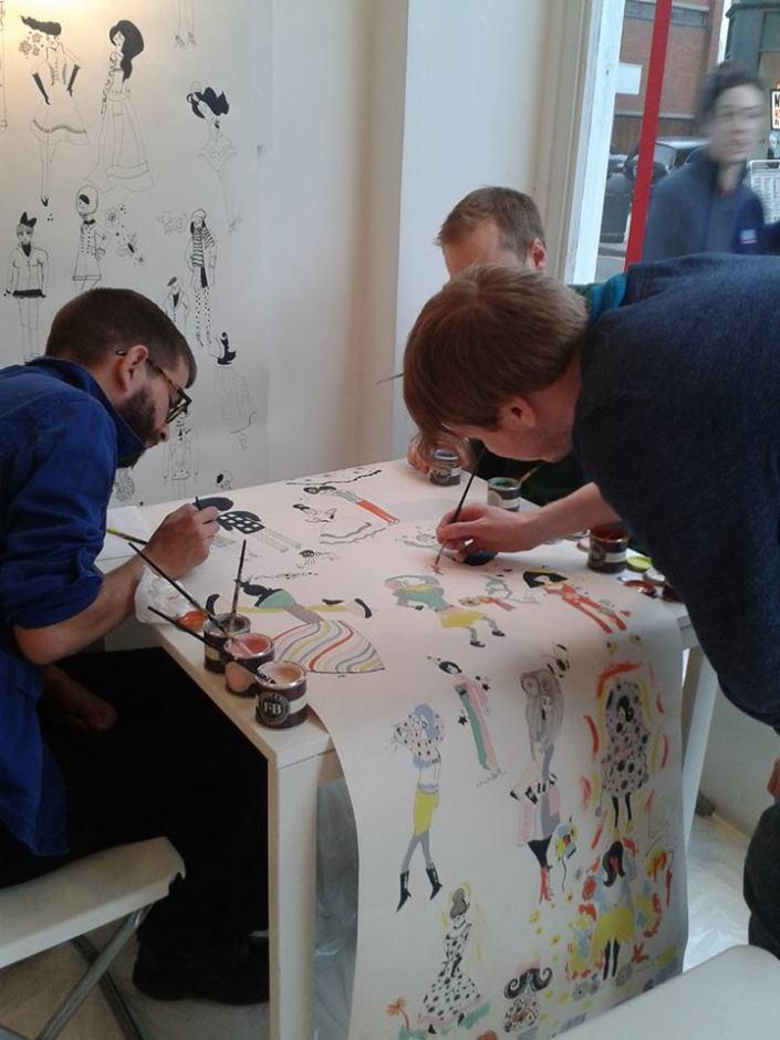Interactive Art Event