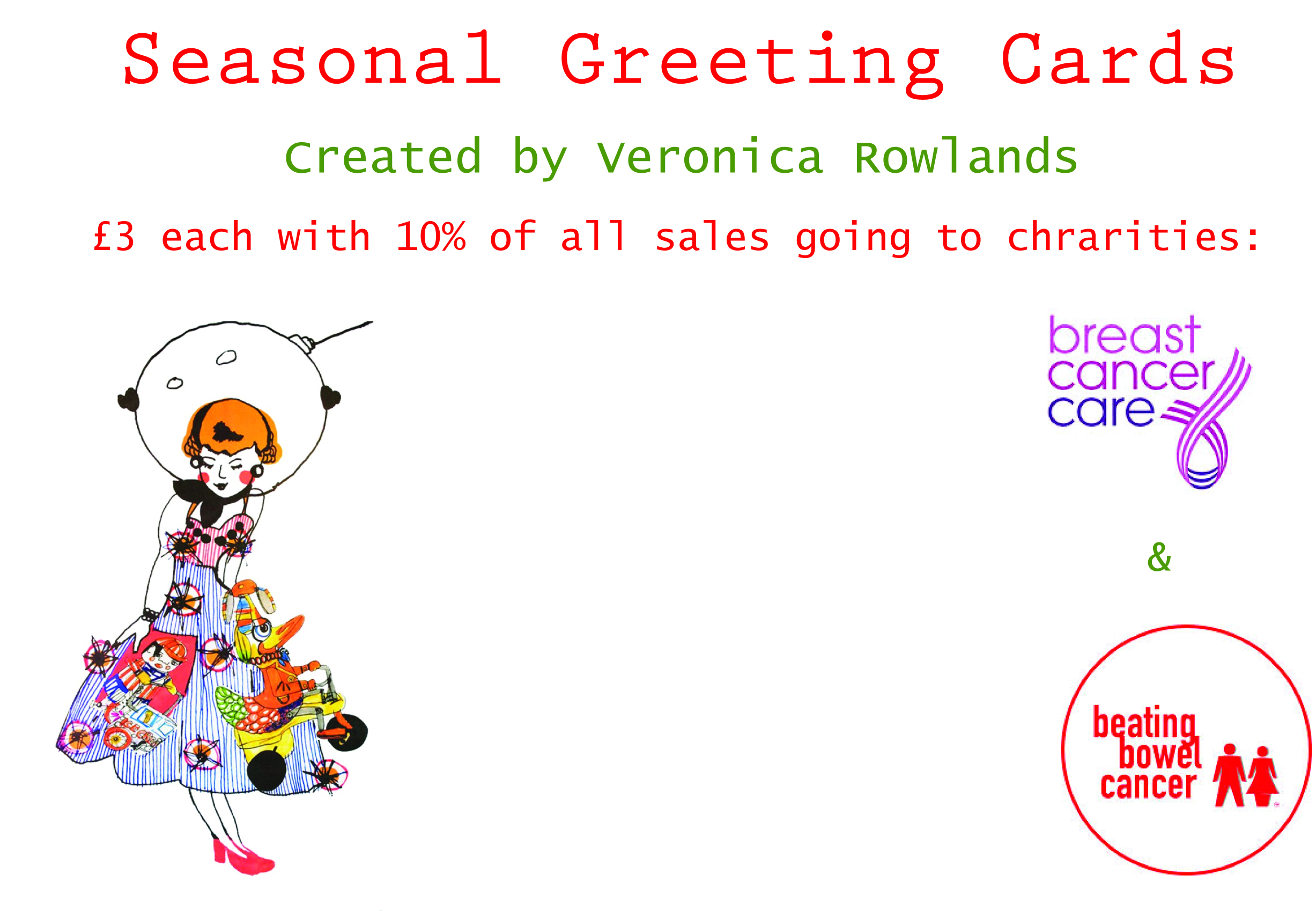 Debut contemporary christmas boutique with charity greeting cards veronica rowlands greeting cards kristyandbryce Choice Image