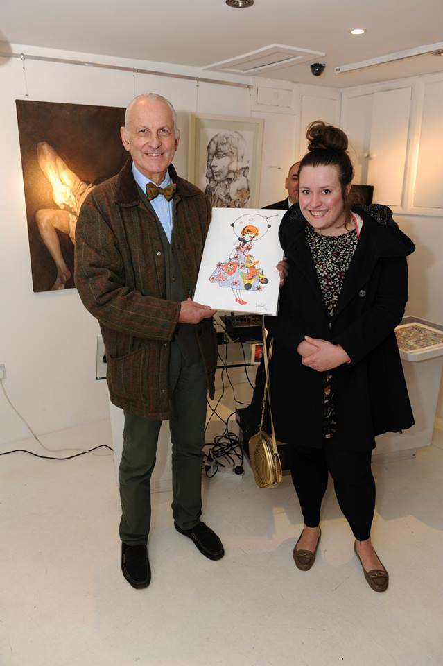 Veronica Rowlands Space Doll at Debut Contemporary Christmas PV