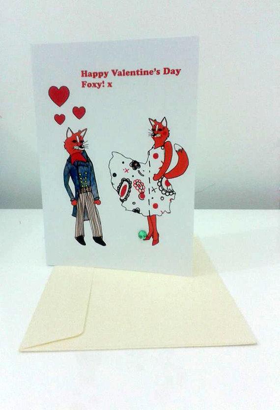 Valentines Day  Foxy