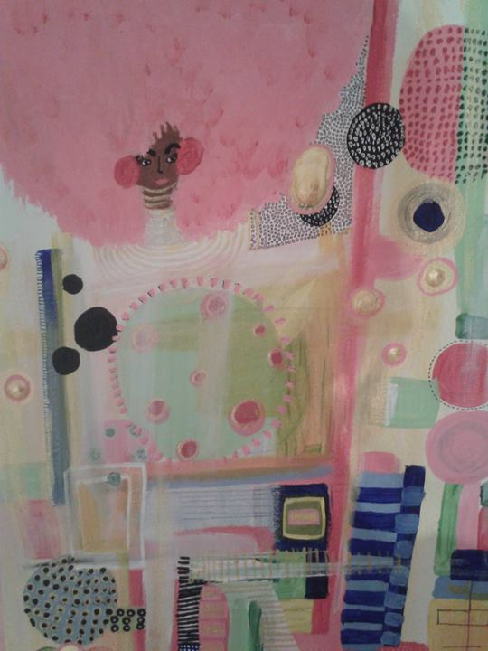 Veronica Rowlands Dream Abstraction 2014