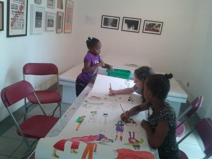 Interactive Wallpaper workshops