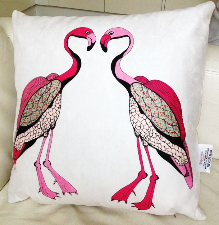 Flamingo Cushion photo