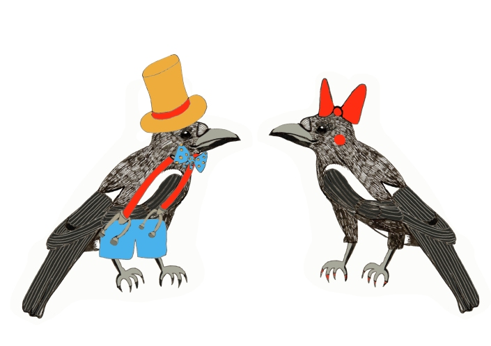 Bow and Dapper Magpie