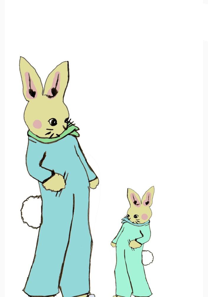 Lil bunni card